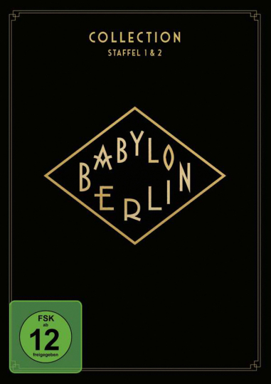 Babylon Berlin Paket (Staffel 1 & 2). 4 DVDs.