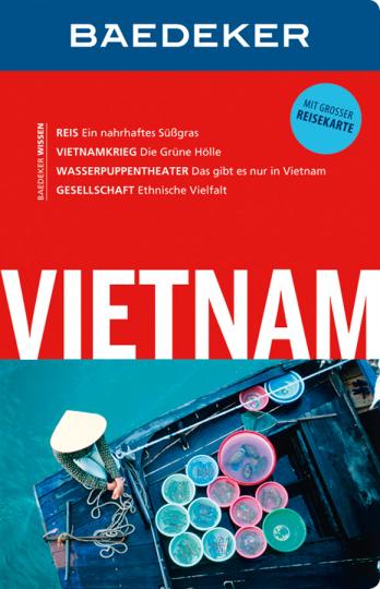 Baedeker Reiseführer Vietnam. Mit großer Reisekarte.