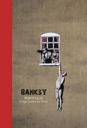Banksy Portfolio Kunstdrucke. 8 Stück.