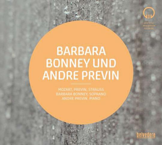 Barbara Bonney und Andre Previn. Mozart und Strauss. CD.