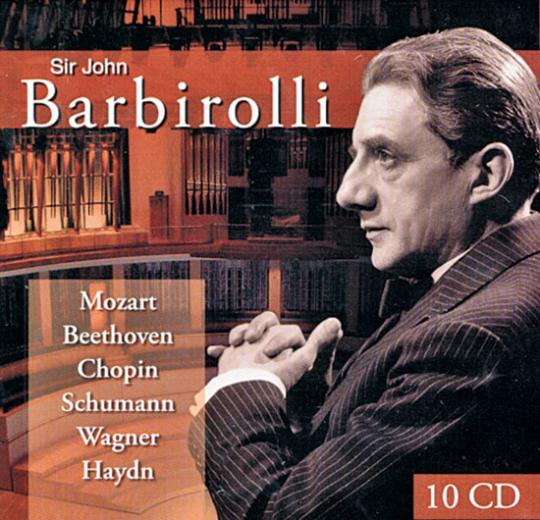 Barbirolli. Maestro Gentile. 10 CDs.