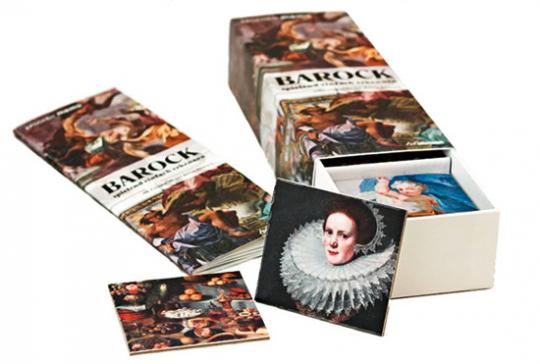 Barock spielend einfach erkennen. Gedächtnisspiel für Kinder und Erwachsene.
