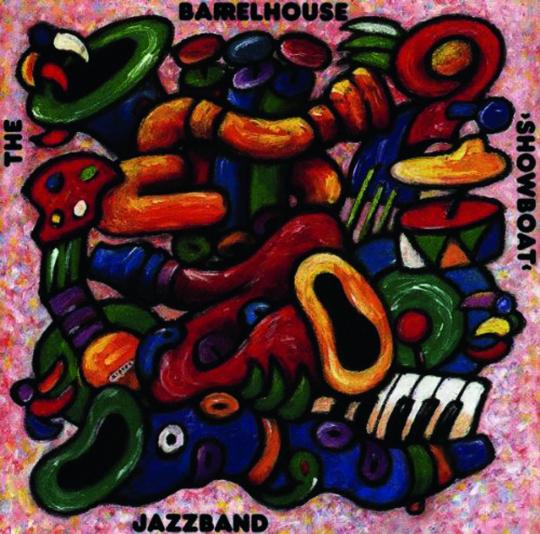 Barrelhouse Jazzband. Showboat. CD.