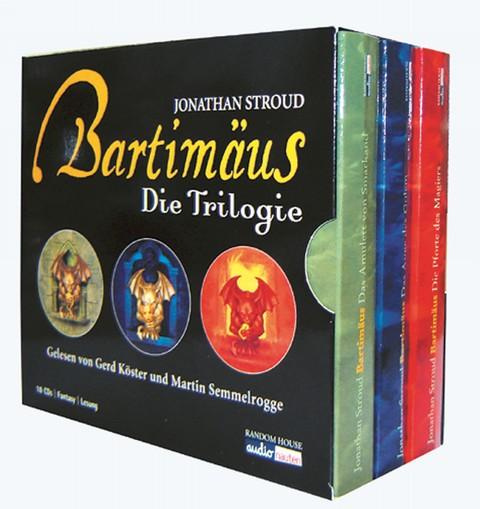 Bartimäus Die Trilogie 18 CDs