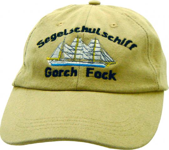 Baseballkappe Gorch Fock sandfarben