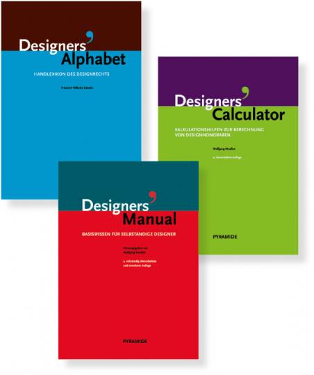 Basiswissen für Designer. 3 Bände im Set.