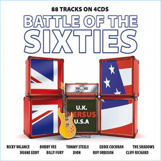Battle of the Sixties. 4 CDs.