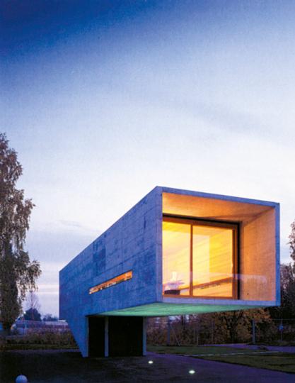 Baumschlager & Eberle - Hafengebäude Rohner, Fußach