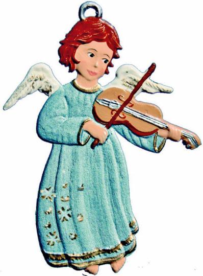 Baumschmuck »Engel mit Geige«.
