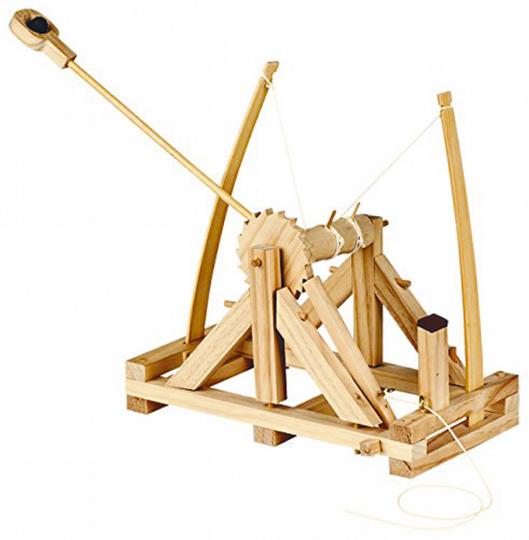 Bausatz Da Vincis Katapult