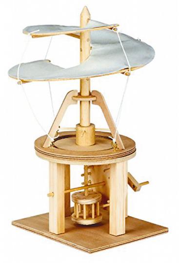 Bausatz Luftschraube von Leonardo da Vinci