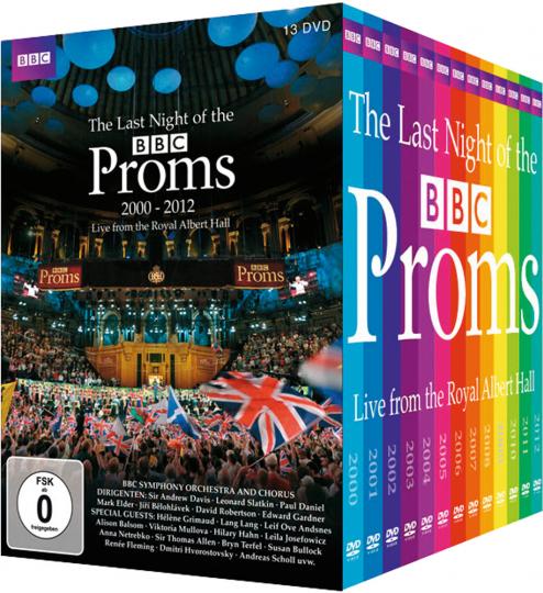 BBC The Last Night of the Proms 2000 - 2012.