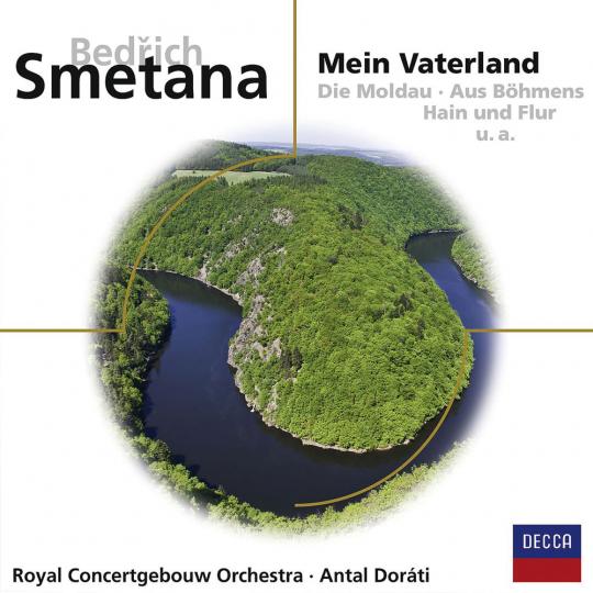Bedrich Smetana. Mein Vaterland. CD.