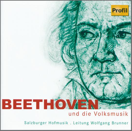 Beethoven und die Volksmusik. CD.