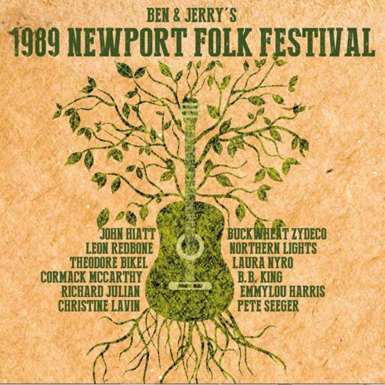 Ben & Jerry's 1989 Newport Folk Festival. 3 CDs.