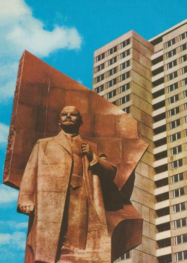 Berlin-Hauptstadt der DDR. Postkartenbox mit 20 Postkarten.