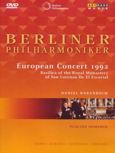 Berliner Philharmoniker. Europakonzert 1992 Madrid. DVD.