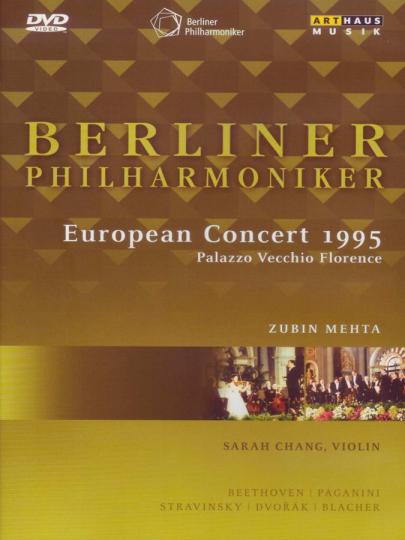 Berliner Philharmoniker. Europakonzert 1995 Florenz. DVD.