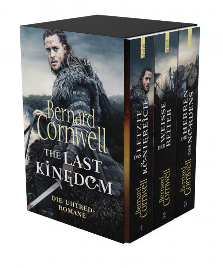 Bernard Cornwell. The Last Kingdom. Die Original-Romane zur Fernsehserie. 3 Bände im Schuber.