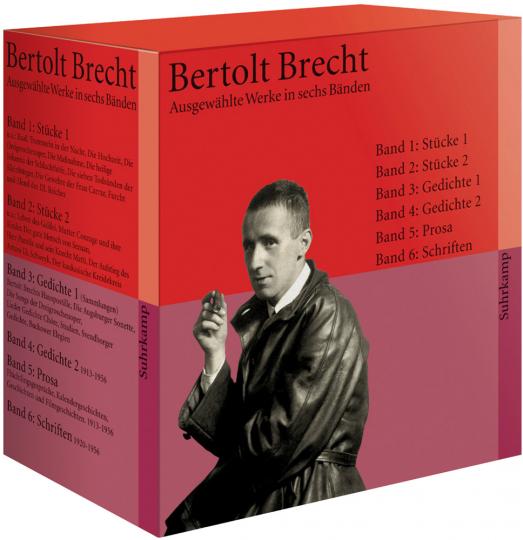 Bertolt Brecht. Ausgewählte Werke in sechs Bänden