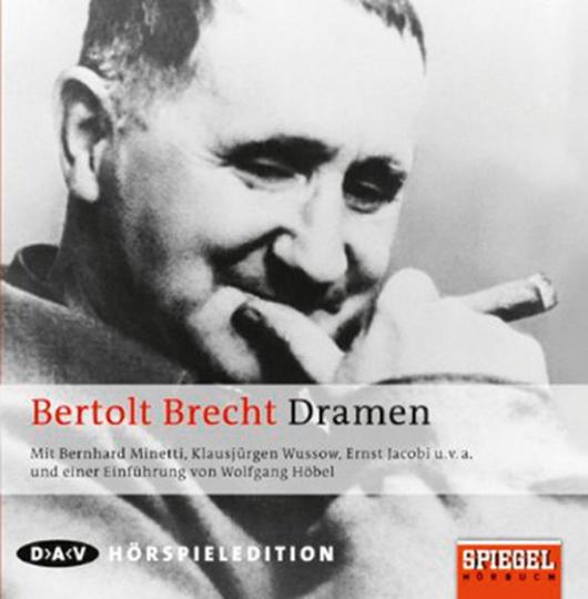 Bertolt Brecht. Dramen. Hörspiel. 10 CDs.