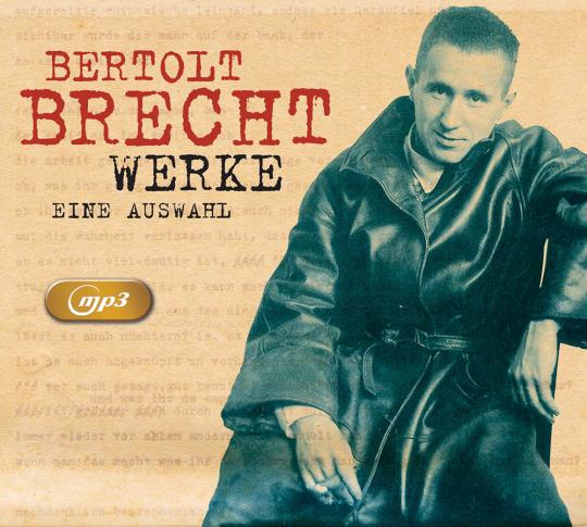 Bertolt Brecht. Hörwerke. 2 mp3-CDs.