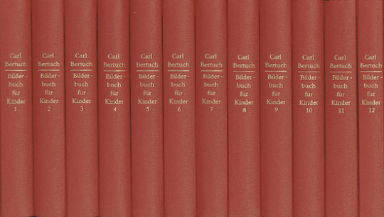 Bertuchs Bilderbuch für Kinder. 12 Bände.