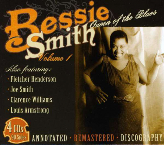 Bessie Smith. Queen Of The Blues Vol. 1. 4 CDs.