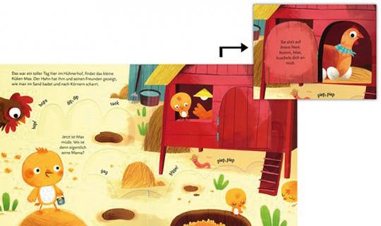 Besuch uns auf dem Bauernhof - Mein Finger-Wanderbuch