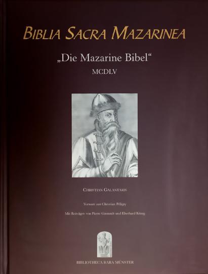Biblia Sacra Mazarinea. Begleitband.