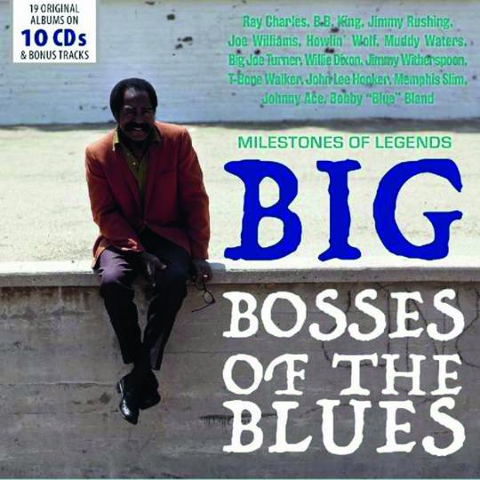 Big Bosses Of The Blues. 10 CDs.