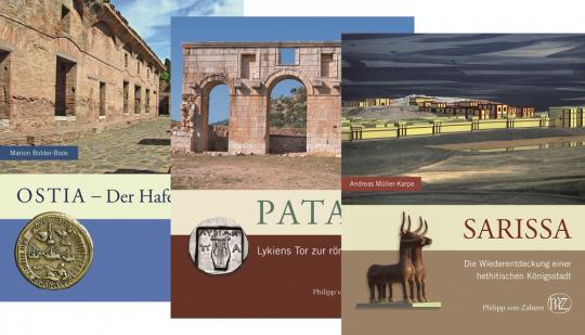 Bildbände zur Archäologie. Paket mit 3 Bänden.