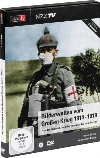 Bilderwelten vom Großen Krieg 1914-1918. DVD.