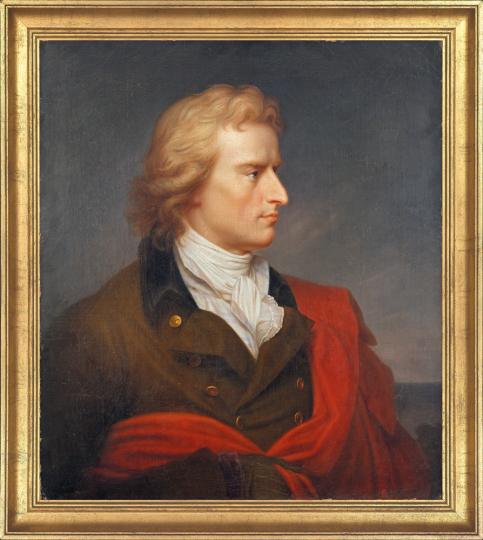 Bildnis Friedrich von Schiller, um 1808/09. Gerhard Franz von Kügelgen (1772-1820).