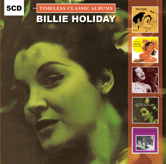 Billie Holiday. Timeless Classic Albums. 5 CDs.