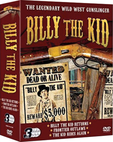 Billy The Kid. 3 DVDs.