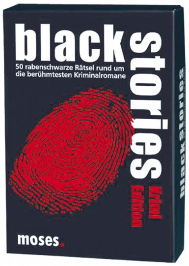 Black Stories. Krimi-Edition.