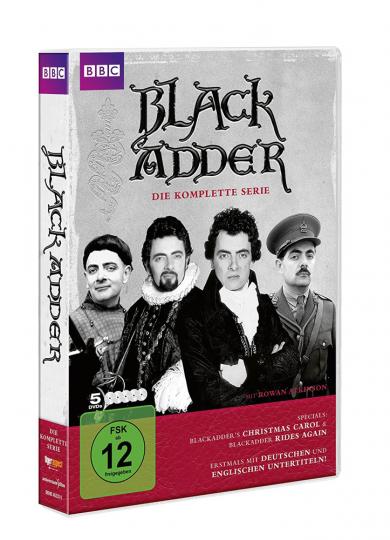 Blackadder Komplettbox. 5 DVDs.
