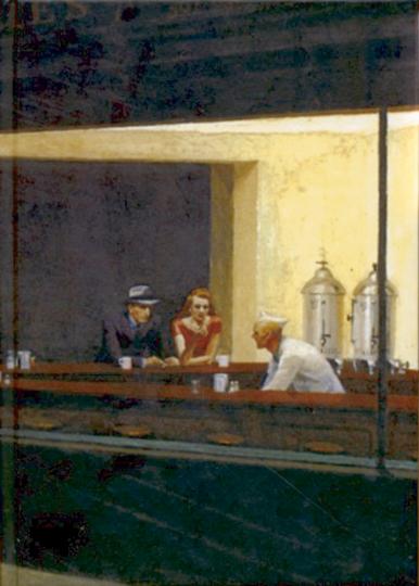 Blankbook Nighthawks - Hopper (R)