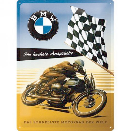 Blechschild BMW - Für höchste Ansprüche