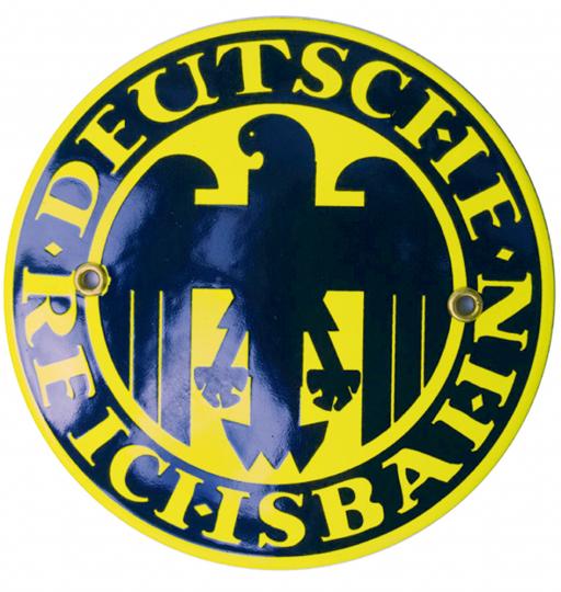 Blechschild Deutsche Reichsbahn