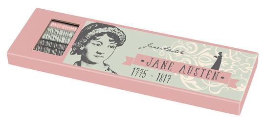 Bleistiftset Jane Austen.