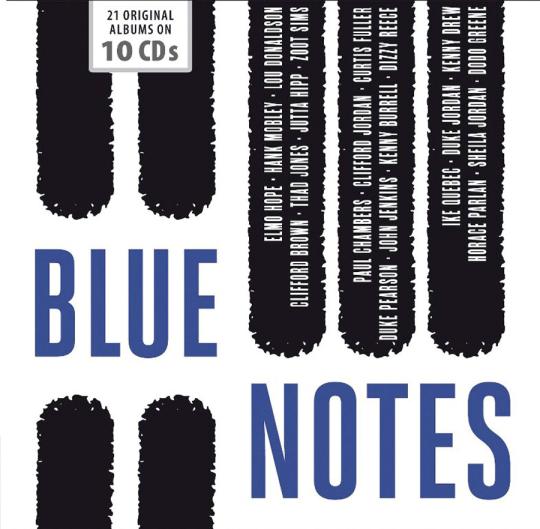 Blue Notes. 21 Alben. 10 CDs.