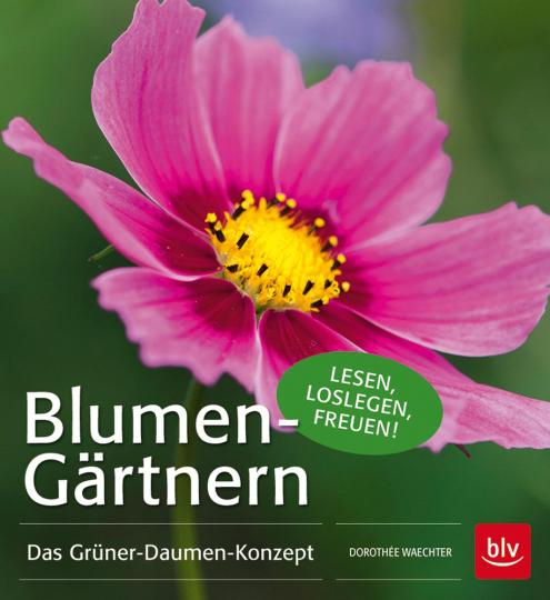 Blumen-Gärtnern. Das Grüner-Daumen-Konzept.