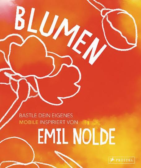 Blumen. Bastle dein eigenes Mobile. Inspiriert von Emil Nolde.