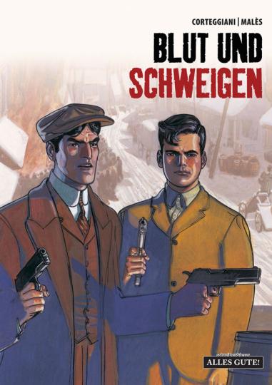 Blut und Schweigen. Teil 1. Graphic Novel.