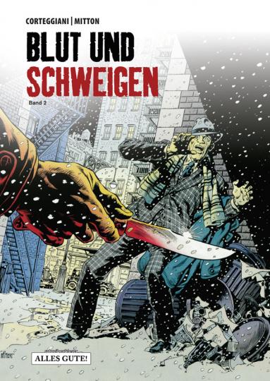 Blut und Schweigen. Teil 2. Graphic Novel.
