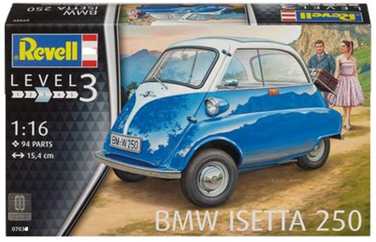 BMW Isetta 250. Modell, Maßstab 1:16.