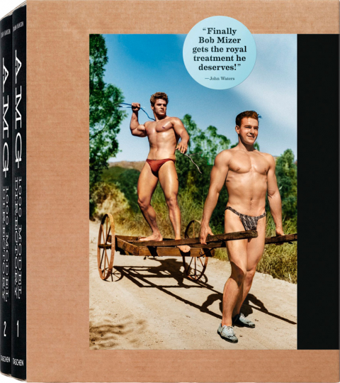 Bob Mizer. AMG: 1000 Model Directory. 2 Bücher mit DVD.