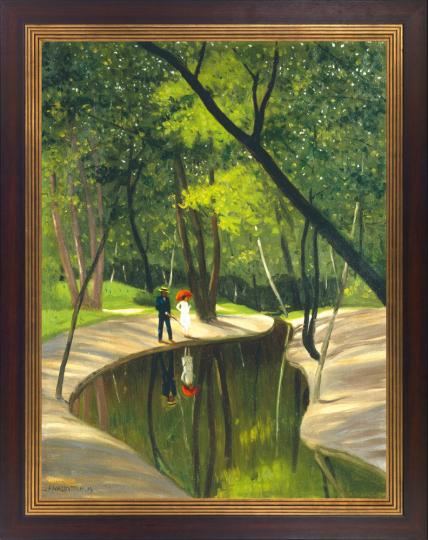 »Bois de Boulogne«, 1919. Félix Vallotton (1865-1925).